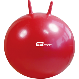 Piłka fitness skacząca ∅45cm EB-FIT czerwona EB FIT - 1   klubfitness.pl