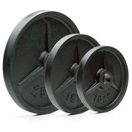 Obciążenie żeliwne olimpijskie 50-G Ironsports® Classic | waga 0.5kg ÷ 25kg IRONSPORTS - 9 | klubfitness.pl