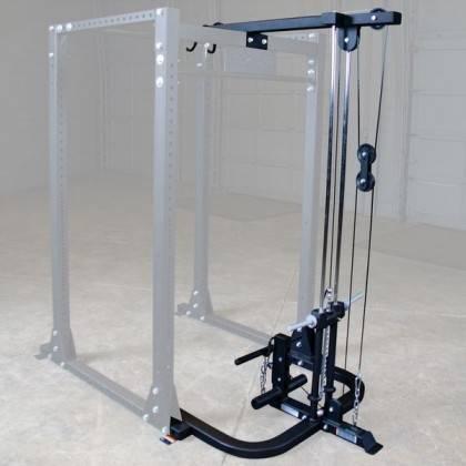 Wyciąg linowy GLA400 Body-Solid wolne obciążenia | do Power Rack GPR400 BodySolid - 1 | klubfitness.pl