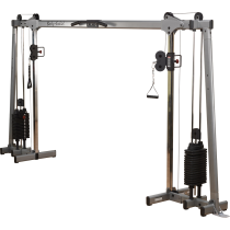 Brama crossover GDCC250 Body-Solid Deluxe | stosy 2x72kg BodySolid - 1 | klubfitness.pl