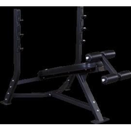 Ławka olimpijska SODB250 Body-Solid Pro Clubline   negatywna BodySolid - 1   klubfitness.pl