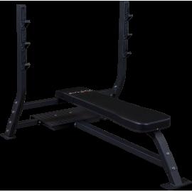 Ławka olimpijska SOFB250 Body-Solid Pro Clubline   pozioma BodySolid - 1   klubfitness.pl