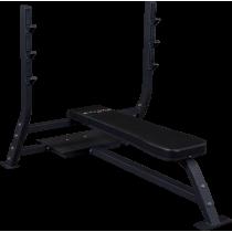 Ławka olimpijska SOFB250 Body-Solid Pro Clubline | pozioma BodySolid - 1 | klubfitness.pl