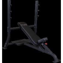 Ławka olimpijska SOIB250 Body-Solid Pro Clubline | skośna BodySolid - 1 | klubfitness.pl