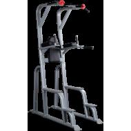 Poręcze dip SVKR1000 Body-Solid unoszenie opadanie kolan   drążek pull up BodySolid - 1   klubfitness.pl