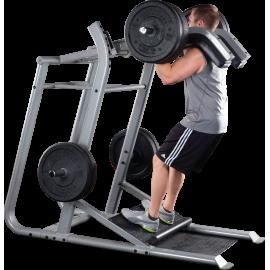 Stanowisko mięśnie nóg SLS500 Body-Solid Pro Clubline   prasa pionowa przysiady BodySolid - 1   klubfitness.pl