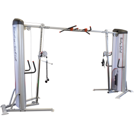 Brama crossover S2COO Body-Solid Pro Clubline | stos 2x72kg BodySolid - 1 | klubfitness.pl
