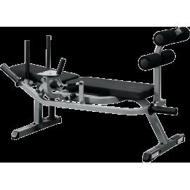 Stanowisko mięśnie brzucha GAB100 Body-Solid   ławka pozioma BodySolid - 1   klubfitness.pl