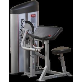Maszyna uginanie ramion S2AC Body-Solid Pro Clubline | stos 72kg BodySolid - 1 | klubfitness.pl