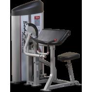 Maszyna uginanie ramion S2AC Body-Solid Pro Clubline   stos 72kg BodySolid - 1   klubfitness.pl