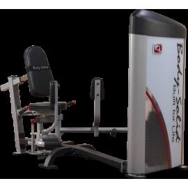 Maszyna przywodziciele odwodziciele S2IOT Body-Solid Pro Clubline | stos 72kg BodySolid - 1 | klubfitness.pl