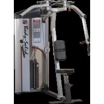 Maszyna rozpiętki barki S2PEC Body-Solid Pro Clubline   stos 72kg BodySolid - 1   klubfitness.pl