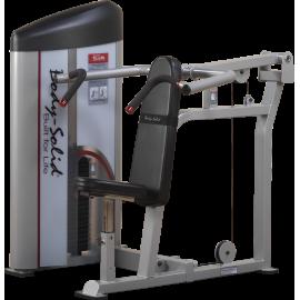 Maszyna wyciskanie pionowe S2SP Body-Solid Pro Clubline | stos 95kg BodySolid - 1 | klubfitness.pl