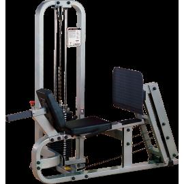 Maszyna wypychanie poziomo SLP500G-2 Body-Solid Pro Clubline | stos 95kg BodySolid - 1 | klubfitness.pl