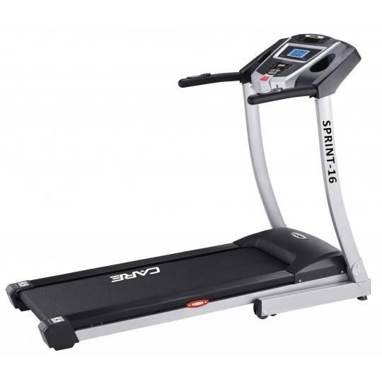 Bieżnia elektryczna Care Fitness Sprint16 | 2.25KM | 1-16km/h Care Fitness - 1 | klubfitness.pl | sprzęt sportowy sport equipmen