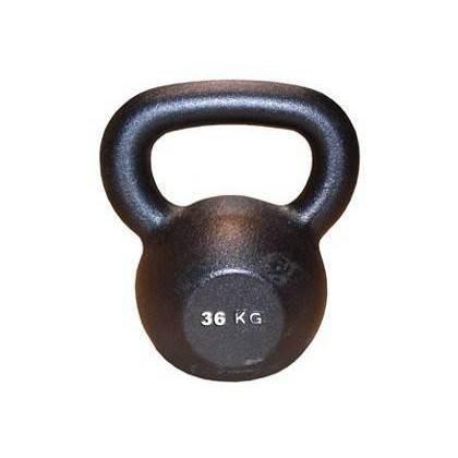 Hantla żeliwna BODYSOLID KETTLEBELL 36kg czarna Body-Solid - 1 | klubfitness.pl