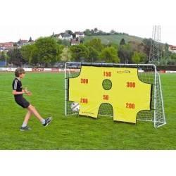 Bramka piłkarska z matą SPARTAN 290x165x90 cm metalowa SPARTAN SPORT - 1 | klubfitness.pl