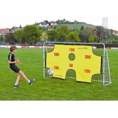 Bramka piłkarska z matą SPARTAN 290x165x90 cm metalowa,producent: SPARTAN SPORT, zdjecie photo: 1   online shop klubfitness.pl  