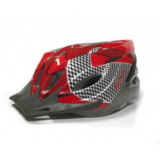 Kask rowerowy TOUR SPARTAN SPORT czerwony uniwersalny,producent: SPARTAN SPORT, photo: 1