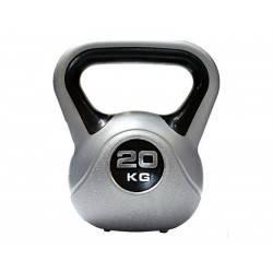 Hantla winylowa kettlebell Insportline 20kg Insportline - 1 | klubfitness.pl
