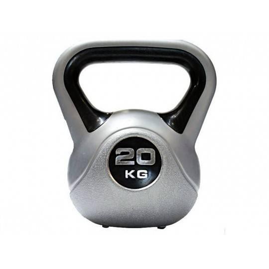 Hantla winylowa kettlebell Insportline 20kg Insportline - 1 | klubfitness.pl | sprzęt sportowy sport equipment