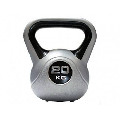 Hantla winylowa kettlebell Insportline 20kg Insportline - 1   klubfitness.pl