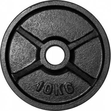 Zestaw obciążeń olimpijskich czarnych STAYER BO135 waga 135kg,producent: STAYER SPORT, photo: 4