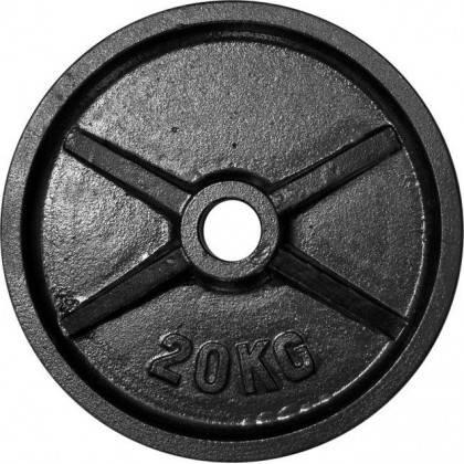 Zestaw obciążeń olimpijskich czarnych STAYER BO160 waga 160kg,producent: Stayer Sport, zdjecie photo: 4 | online shop klubfitnes