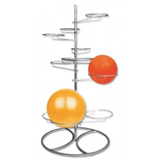 Stojak na piłki gimnastyczne IFS R-3080 na 10 piłek,producent: IRONSPORTS, zdjecie photo: 1 | online shop klubfitness.pl | sprzę