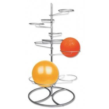 Stojak na piłki gimnastyczne IFS R-3080 na 10 piłek,producent: IRONSPORTS, zdjecie photo: 2 | online shop klubfitness.pl | sprzę