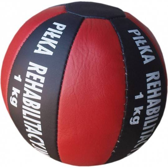 Piłka lekarska 1 kg A-SKI SPORT skóra syntetyczna,producent: A-SKI SPORT, zdjecie photo: 1 | online shop klubfitness.pl | sprzęt
