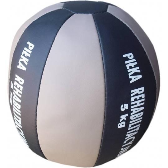 Piłka lekarska 5 kg A-SKI SPORT skóra syntetyczna,producent: A-SKI SPORT, photo: 3