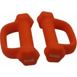 Hantla fitness neoprenowa Spartan Sport 0,5kg | z uchwytem SPARTAN SPORT - 1 | klubfitness.pl
