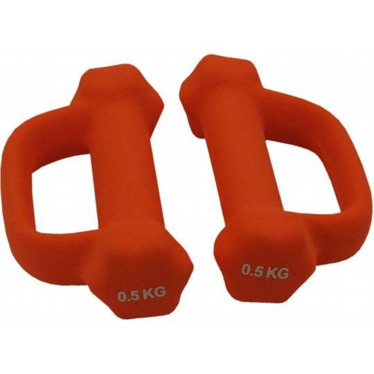 Hantla fitness neoprenowa Spartan Sport 0,5kg | z uchwytem,producent: SPARTAN SPORT, zdjecie photo: 1 | online shop klubfitness.