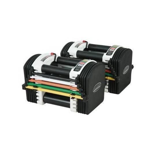 Hantle regulowane uretanowe PowerBlock U70A regulacja wagi 2 - 18 kg,producent: POWER BLOCK, photo: 1