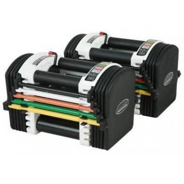 Hantle regulowane uretanowe PowerBlock U70A regulacja wagi 2 - 18 kg,producent: POWER BLOCK, photo: 2