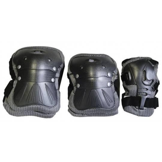 Zestaw ochraniaczy Coolmax SPARTAN SPORT czarne,producent: SPARTAN SPORT, zdjecie photo: 1 | online shop klubfitness.pl | sprzęt