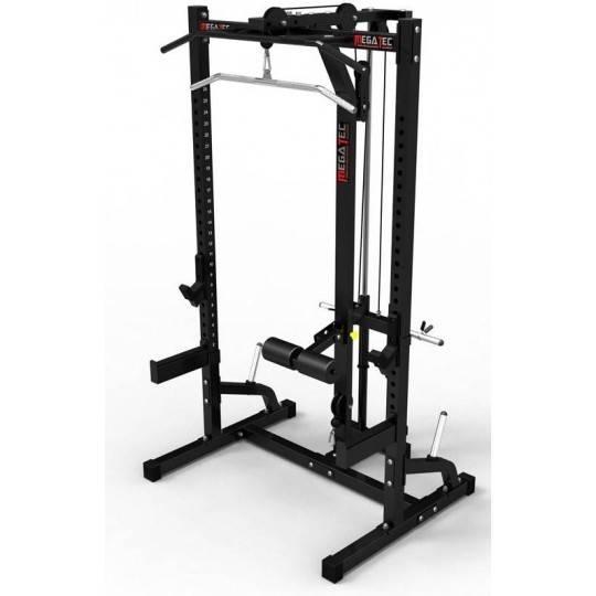 Klatka half rack z wyciągiem MegaTec MT-HR-10+LMO-FW MegaTec - 1 | klubfitness.pl