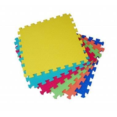 Mata amortyzująca puzzle SPARTAN SPORT 46x46x1,2cm KOLOROWA 6 modułów,producent: SPARTAN SPORT, photo: 1