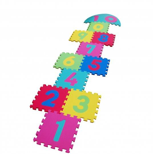 Mata puzzle 30 x 30 x 1,2 cm SPARTAN SPORT kolorowa CYFRY,producent: SPARTAN SPORT, photo: 1