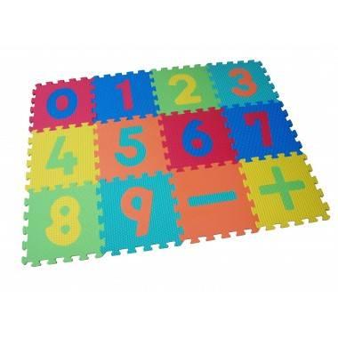 Mata puzzle 30 x 30 x 1,4cm SPARTAN SPORT kolorowa CYFRY,producent: SPARTAN SPORT, zdjecie photo: 1   online shop klubfitness.pl