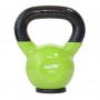 Hantla winylowa kettlebell STAYER SPORT 8 kg z gumową podstawą- zielona Stayer Sport - 1 | klubfitness.pl