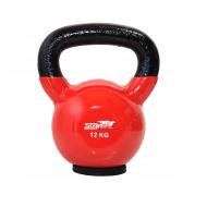Hantla winylowa kettlebell STAYER SPORT 12 kg z gumową podstawą- czerwona,producent: Stayer Sport, zdjecie photo: 1 | online sho