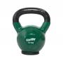 Hantla winylowa kettlebell STAYER SPORT 14 kg z gumową podstawą- zielona,producent: Stayer Sport, zdjecie photo: 1 | klubfitness