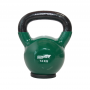 Hantla winylowa kettlebell STAYER SPORT 14 kg z gumową podstawą- zielona,producent: Stayer Sport, zdjecie photo: 1 | online shop