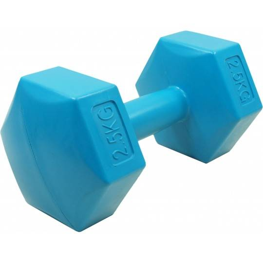 Hantla fitness cementowa 2,5kg HEX STAYER SPORT hantelka bitumiczna,producent: STAYER SPORT, photo: 1