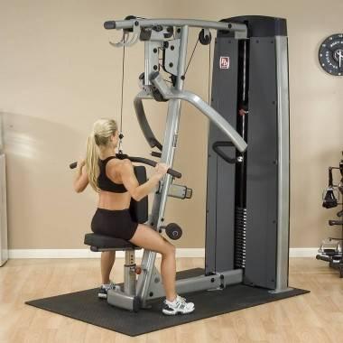 Maszyna ze stosem BODYSOLID PRODUAL DPLS-SF klatka piersiowa wypychanie siedząc,producent: BODY-SOLID, photo: 5