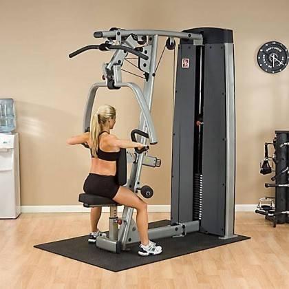 Maszyna ze stosem BODYSOLID PRODUAL DPLS-SF klatka piersiowa wypychanie siedząc,producent: BODY-SOLID, photo: 6