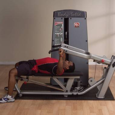 Maszyna ze stosem BODYSOLID PRODUAL DPRS-SF klatka piersiowa wypychanie leżąc,producent: BODY-SOLID, photo: 2