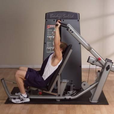 Maszyna ze stosem BODYSOLID PRODUAL DPRS-SF klatka piersiowa wypychanie leżąc,producent: BODY-SOLID, photo: 3